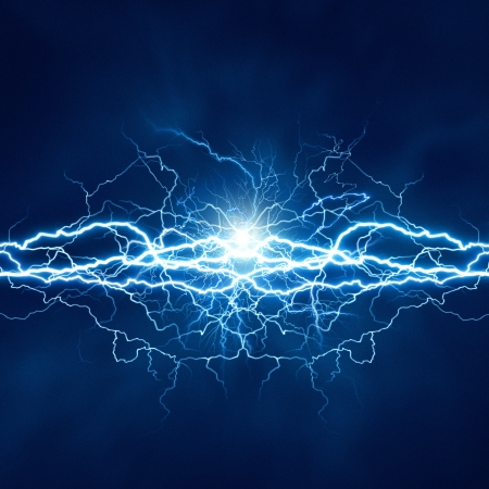 thunderbolt: Electric lighting effect, abstract techno backgrounds for your design