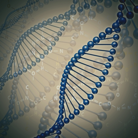Human DNA, abstract science and techno backgrounds Stock Photo - 18409984