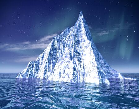 glacial: Iceberg. Abstract eco backgrounds for your design