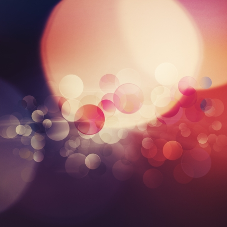 Beautiful abstract bokeh over bright backgrounds for your design photo
