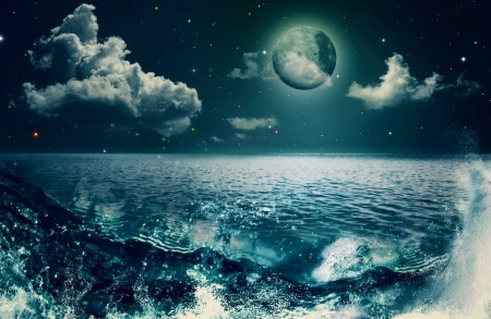 underwater background: Beauty Ocean, abstract natural backgrounds for your design