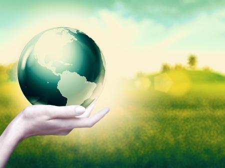 el mundo en tus manos: Todo el mundo en tus manos, fondos ambientales abstractos