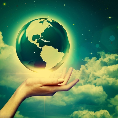 earth core: Whole world in your hands, environmental backgrounds