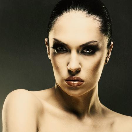 Fashion woman. Fashionable female portrait Stock Photo - 21501304