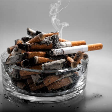 Stop smoking today, abstract healthy backgrounds for your design Reklamní fotografie - 21506799