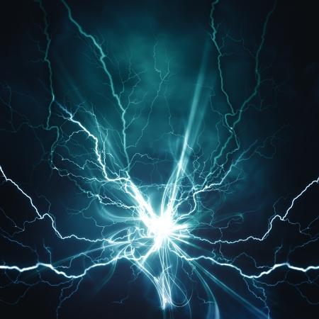 disaster: Electric lighting effect, abstract techno backgrounds for your design