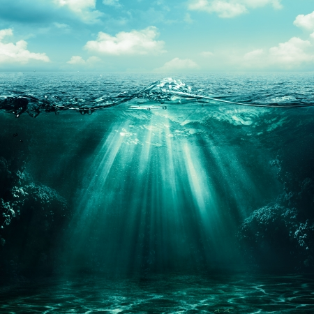 Abyss. Abstract environmental backgrounds for your design