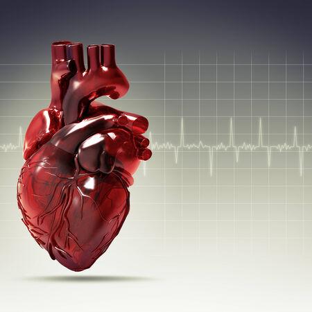 cardioid: Salud y medicina fondos para su dise�o Foto de archivo