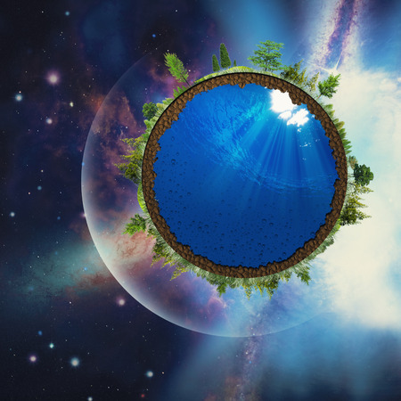 Abstract environmental backgrounds with abstract Earth Stock Photo - 26769322