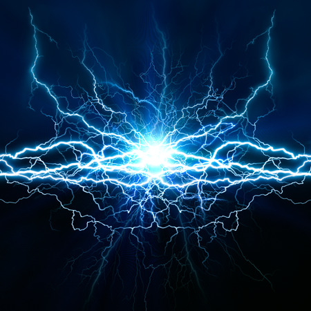Elektrische lichteffect, abstracte techno achtergrond voor uw ontwerp Stockfoto
