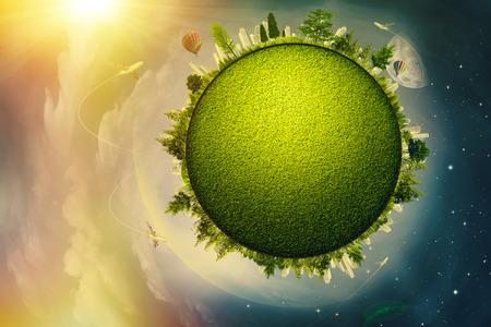 turismo ecologico: Ecol�gico global y el concepto de transporte para su dise�o