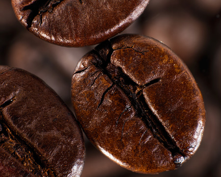 nebulous: Cofee beans against blurred abstracr backgrounds