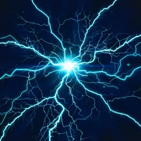 Elektrische verlichting effect, abstracte techno achtergrond