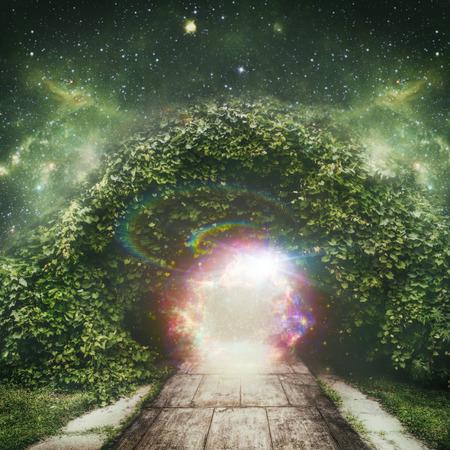 portal a otro universo, fondos abstractos espirituales