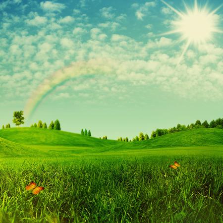 arbol de la vida: Belleza fondos ambientales para su dise�o Foto de archivo