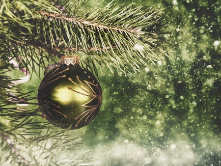 christmas backgrounds: Abstract seasonal backgrounds with christmas decorations and beauty bokeh