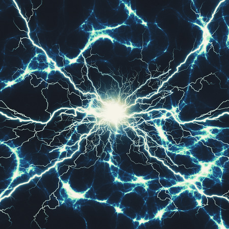 abstract power and electricity backgrounds for your design Standard-Bild