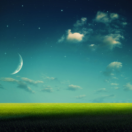stargaze: Abstract summer vacation backgrounds for your design. Stock Photo