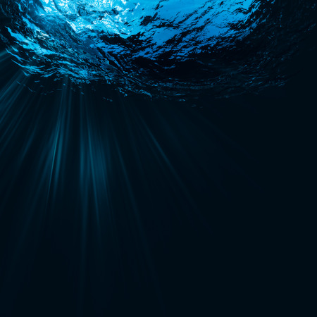 Deep water, abstract natural backgrounds Archivio Fotografico