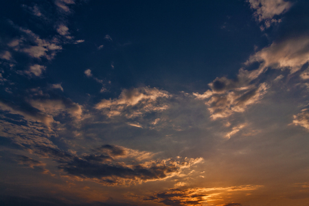 wide open spaces: Late sunset, abstract natural landscape for your design