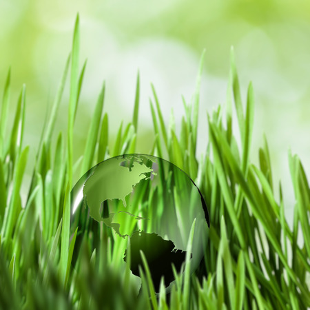 green environment: Save the planet. abstract natural backgrounds