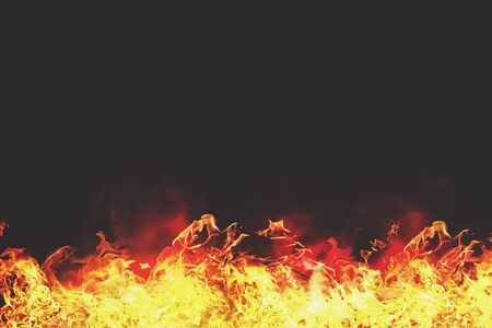 hellish: Burning flame, abstract backgrounds for your design