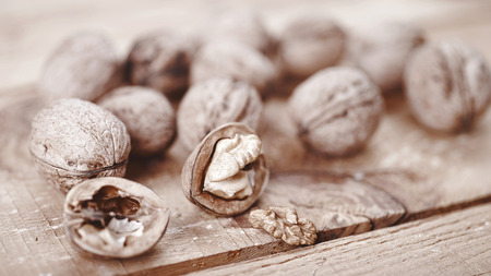 close up food: Nut still life. Food ingredienеs abstract backgrounds Stock Photo