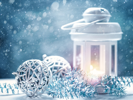 christmas light: Abstract Christmas backgrounds with lantern and beauty holiday decorations