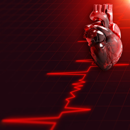 by pass surgery: Abstract medical and wellness backgrounds with human heart