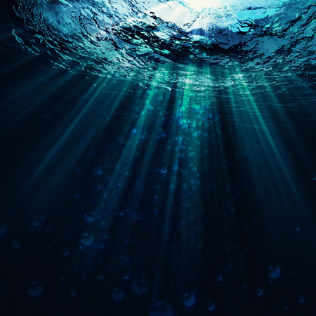Deep Blue Sea, abstract marine backgrounds for your design