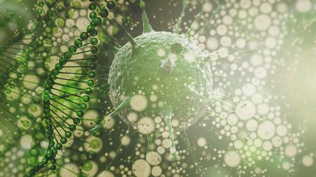 microbiologia: Microbiología. educación y ciencia Fondos abstractos con ADN, etc virus