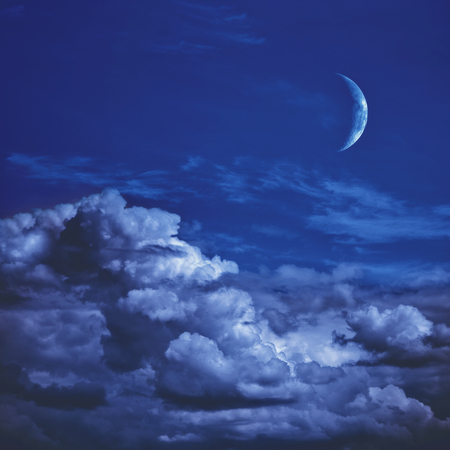 Beautiful night. Abstract natural backgrounds