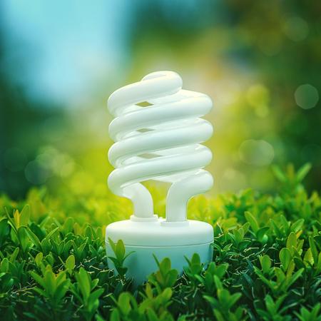Energy saving and alternative power, abstract backgrounds Standard-Bild - 107206061