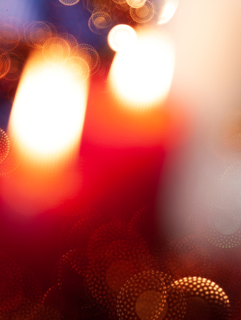 Abstract Lights. Blured party and holidays backgrounds Standard-Bild
