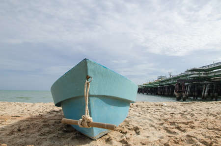 Boat in Thai sea, Thailand photo