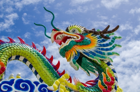 Chinese dragon, Thailand photo