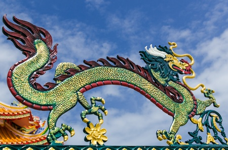 Chinese dragon, Thailand Stock Photo - 14155861
