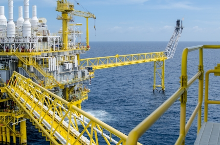Offshore platform in south of Thailand Stock Photo - 14713366