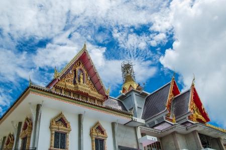 Thai chiqueiro templo Banco de Imagens