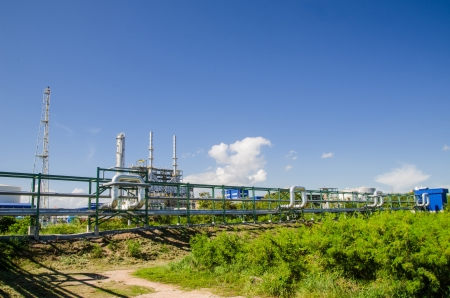 Petrochemical plant in Thailand photo