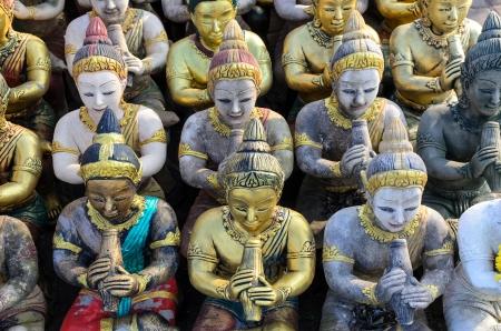 Muitos buddha escultura na Tail�ndia