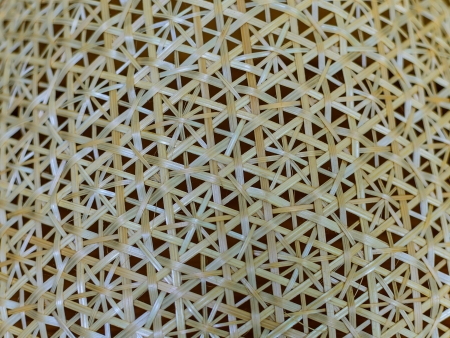 Rattan weave pattern texture and background photo