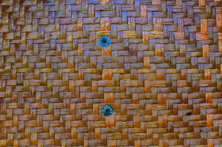 weaving: Wicker weaving texture and background