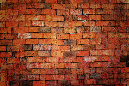Brick wall background and texture photo