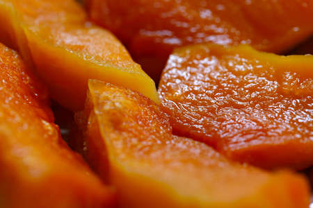 luscious: Baked pumpkin slices