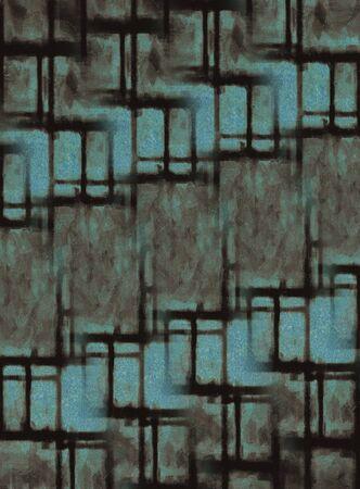 temptress: Artistic bright color paints texture