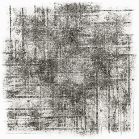 distressed paper: Black and white grunge background