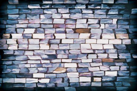 stone mason: abstract background Stock Photo