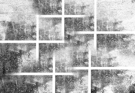 distress: Grunge black and white scratch distress texture