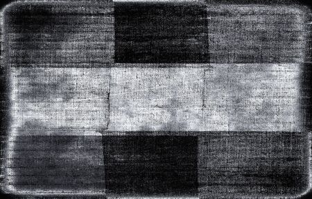 black textured background: abstract geometric textured monochrome background in black and white colors Stock Photo
